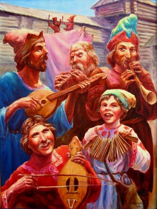 Скоморохи: история возникновения явления скоморошества и его музыкальные особенности 370